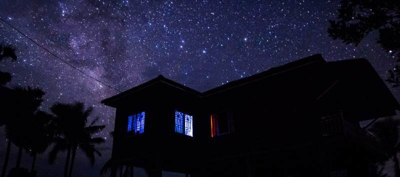 A beautiful night sky, captured by an ICS volunteer in Cambodia
